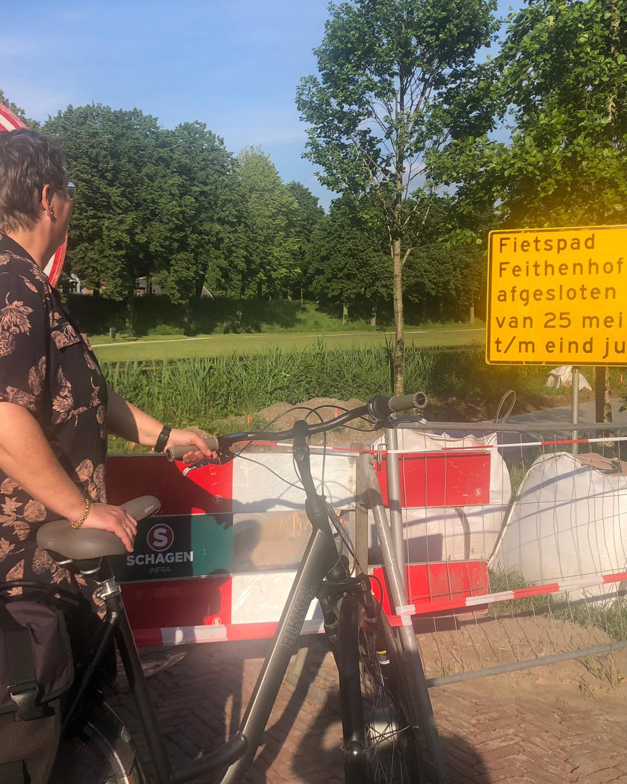 Algemeen Belang tevreden over nieuw pad bij Feithenhof